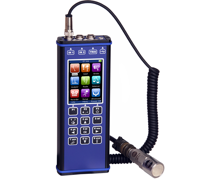 VIMS - ADASH 3-kanałowy analizator drgań, vibration analyzer