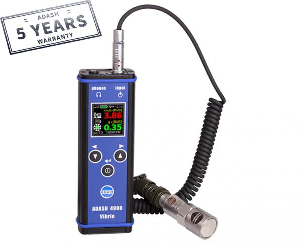 Adash vibration meter, analyzer, vibration, miernik drgań, analizator