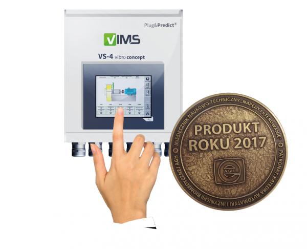 VIMS VS-4 system monitorowania drgań PRODUKT ROKU 2017