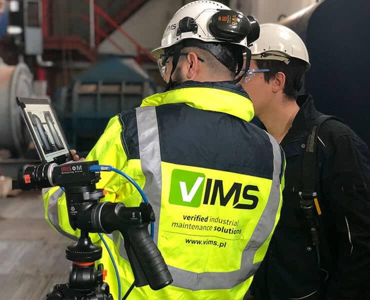 Pomiary wibrodiagnostyczne kamerą wzmacniającą ruch IRIS M firmy RDI Technologies
