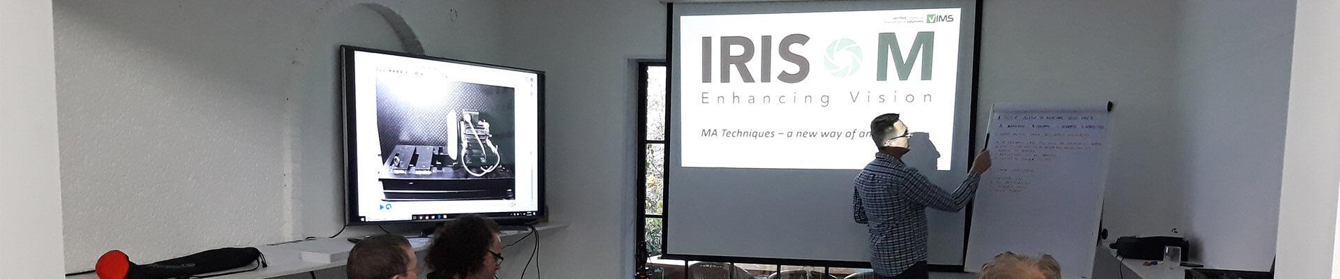 szkolenie z użytkowania systemu iris m