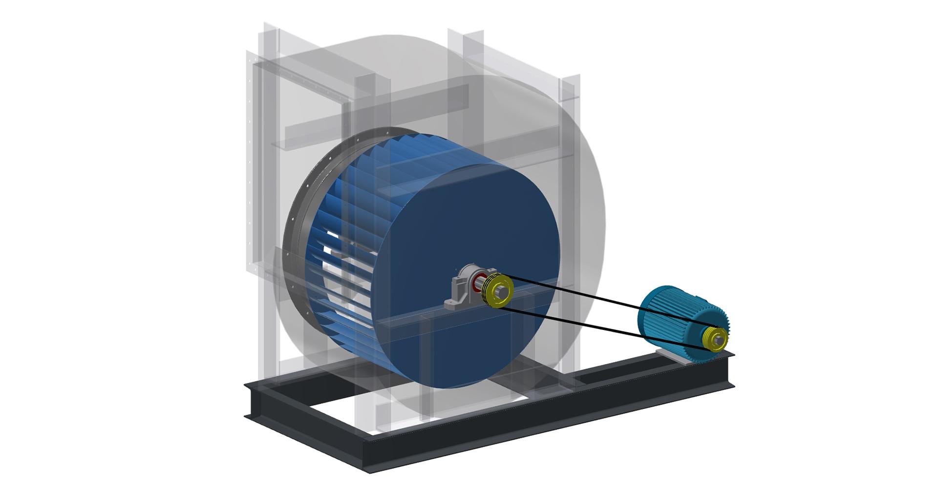 wentylator 3D