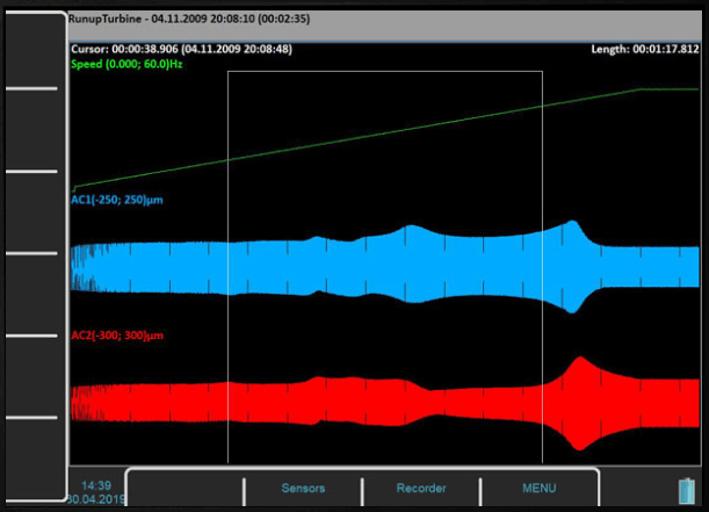 Widok rejestratora w oprogramowaniu Virtual Unit