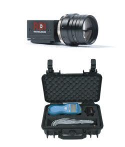 IRIS M kolorowa kamera wzmacniająca ruch oraz techometr